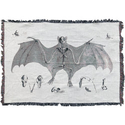 Fruit Bat Skeleton XL Blanket