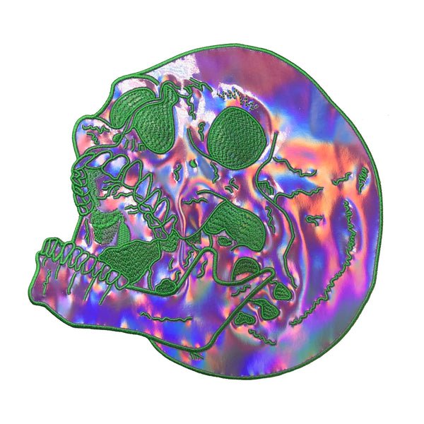 SLIME SKULL BACK PATCH