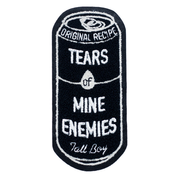 Tears of Mine Enemies XL Chenille patch
