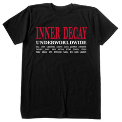 Underworldwide T-shirt