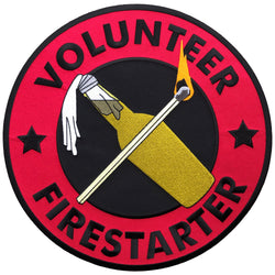 Volunteer Firestarter Back Patch