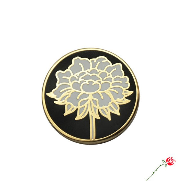 White Lotus Pin