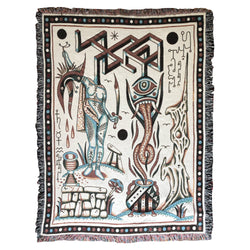Henry Hablak Blood Ritual XL Blanket