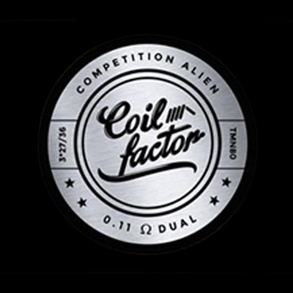 Coil Factor - Competition Aliens Coil Sets(Silver) - The Vapery Cape Town