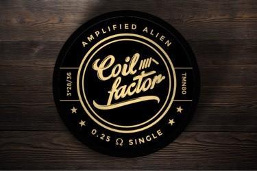 Coil Factor - Amplified Alien Coil Sets(Black and Gold) - The Vapery Cape Town