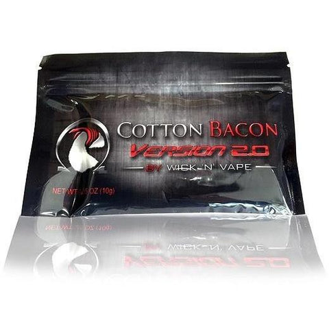 The Vapery: Cotton - Wick 'n Vape - Cotton Bacon