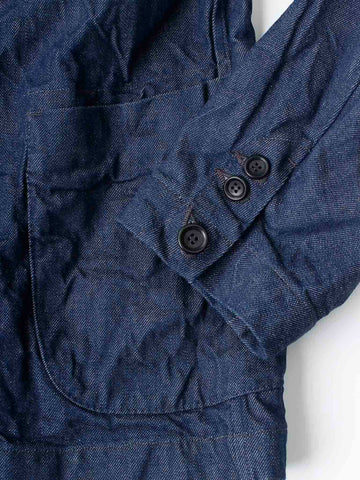 Okome Denim Double Jacket