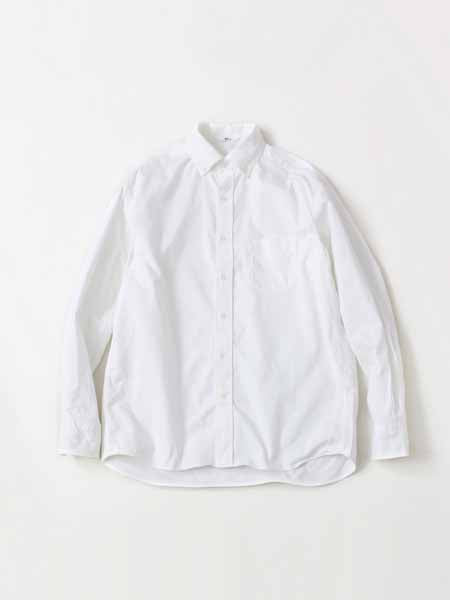 2-Ply Oxford Shirt in White