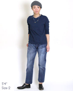 Aihiko 0116 Distress Denim Pants
