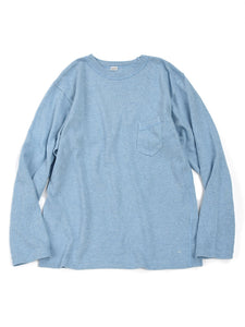 Low Gauge Tenjiku Long T-shirt Men's in Saxe