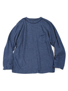 Low Gauge Tenjiku Long T-shirt Men's in Blue