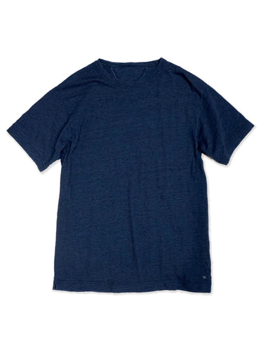 Indigo 45 Star Short Sleeve T-Shirt in Indigo