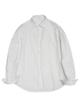 Zimba Oxford Coin Pocket Shirt in White