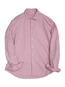 Zimba Oxford Coin Pocket Shirt in Pink Chambray