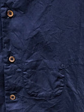 Indigo Oxford Coin Pocket Cotton Shirt