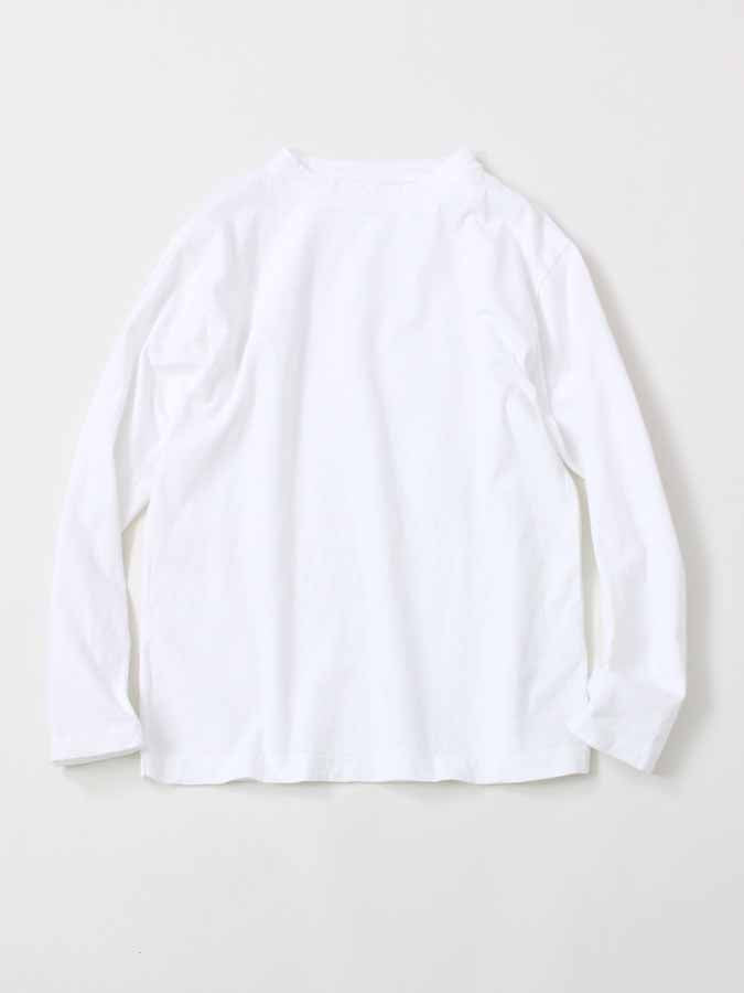 45 Star Long Sleeve T-Shirt in White