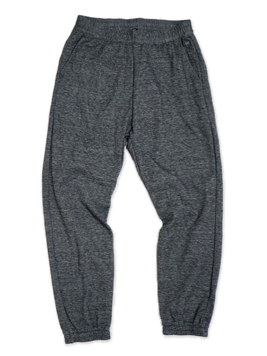 Cotton Blend Sweat Pants in Charcoal Moku