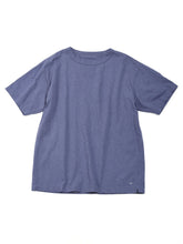 Zimbabwe Cotton 45 Star Short Sleeve T-Shirt in purple blue