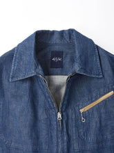 Cotton Denim Jacket Distress