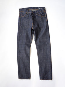 Supima Organic Ai-Indigo Denim 0417 One Wash in Indigo