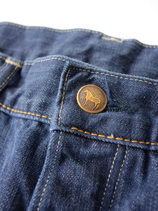 Supima Organic Ai-Indigo Denim 0417 Distress Pants
