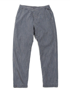 Goma Hickory Sweat Pants in Distressed indigo
