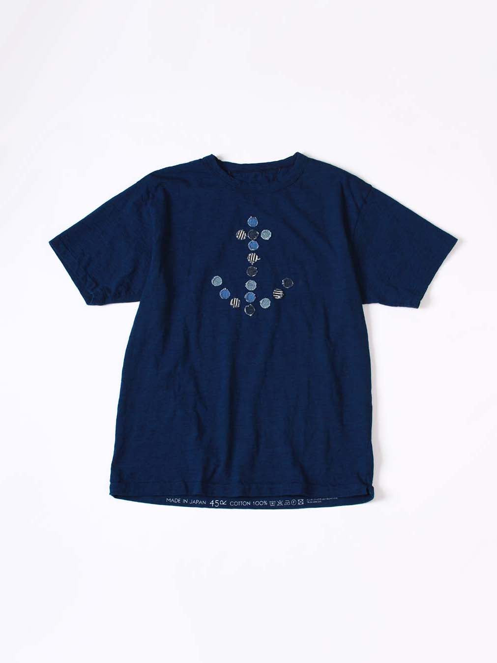 Indigo 45 Star T-shirt Anchor Logo