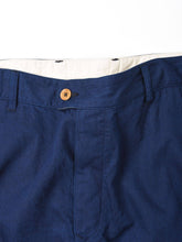 Indigo Goma Chino Cotton Joppan Cargo Pants