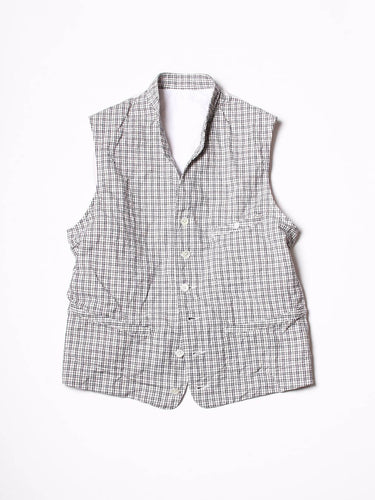 White Tweed Vest (Men's)