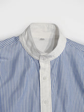 Cotton Oxford Stand Collar Shirt