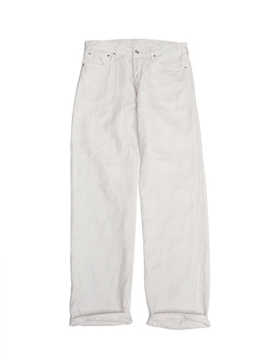 Majotae Duck Front River Pants in White