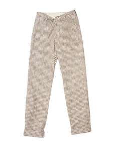 Stretch Easy Slacks in Tattersall Check