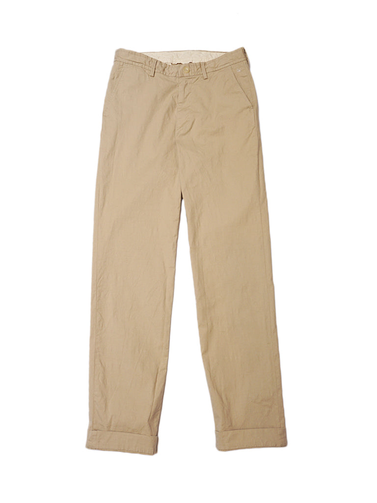 Stretch Easy Slacks in Beige