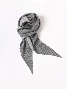 Silk Glen Check Scarf Tie