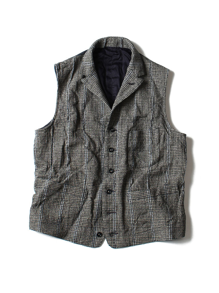 Cotton Tweed Vest
