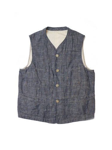 Indigo Happy Vest in Indigo
