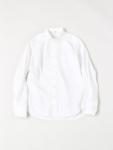 Suvin Plain Weave Shirt in White