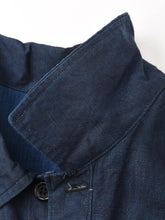 Indigo Linen Over Shirt