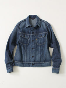 Indigo Kersey Stretch Jacket Distress