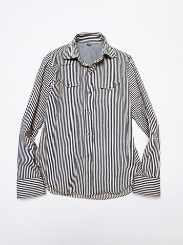 Mon Petit Eastern Shirt in Hickory