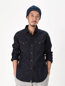 Ai Nando Awa Satin Cotton Eastern Shirt One Wash