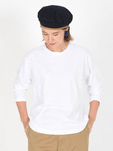 Zimba Cotton Long Sleeve Ocean T-shirt