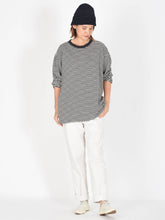 Zimba Cotton Border Stripe Ocean T-Shirt