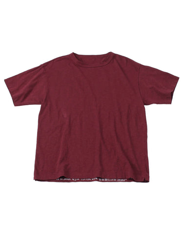 SA Zimba Cotton 45 Star Short Sleeve T-Shirt in red