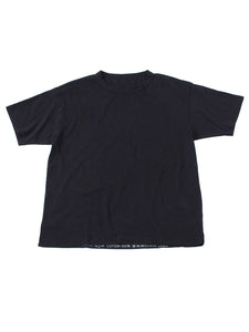 SA Zimba Cotton 45 Star Short Sleeve T-Shirt in black