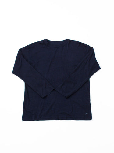 SA Indigo Zimba Tenjiku 45 star Long Sleeve T-shirt in indigo