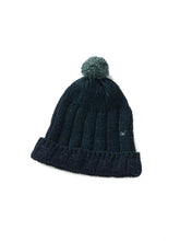 Ribbed Himalayan Hat in Indigo