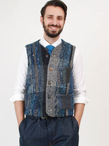 Ai Homespun Tweed Vest