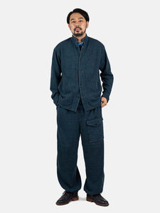 Indigo Loop Wheel Urake Shirt All