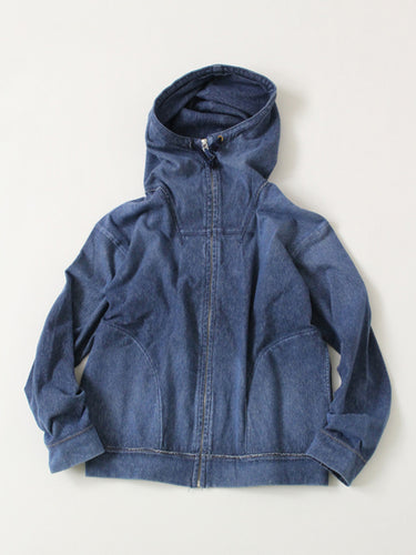 Indigo Kersey Stretch Parka Distress